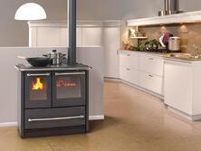 Cucina a legna Sovrana Easy Nordica extraflame